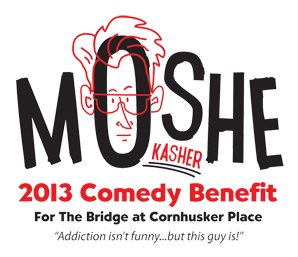Moshe Kasher at The Bridge at Cornhusker Place January 26th 2013 Lincoln, NB